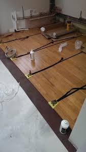 elegant installing bamboo flooring over concrete floating floor over ed concrete floating floor