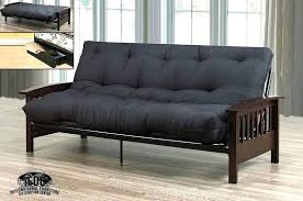 wood arm futon mainstays assembly instructions mission frame better homes and gardens with coil mattress