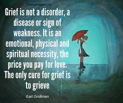 Quotes On Grief Interesting EARL GROLLMAN QUOTE Grief Poetry