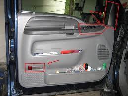 ford f150 replace door window glass how to ford trucks 2013 F150 Door Harness figure 2 common bolt locations Ford F-150 Door Handles