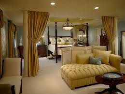 Ceiling Fabric Draping Bedroom