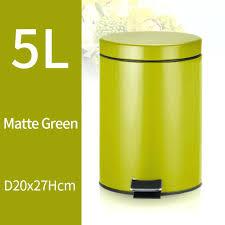 yellow kitchen trash can trash can kitchen living room office garbage dust bin bathroom storage rubbish