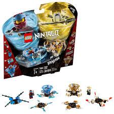 LEGO NINJAGO Spinjitzu Nya & Wu 70663 Building Kit (227 Piece)