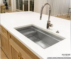 Undermount Stainless Steel Sinks Usa Crafted Havens Metal