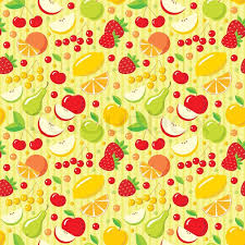 Fruit Pattern Classy Seamless Fruits Pattern Stock Vector Colourbox