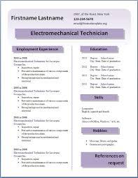 Resume Templates Word 2013 18 Free Cv Template 26