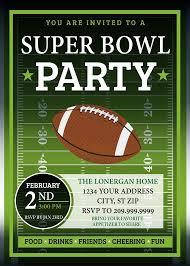 Super Bowl Party Invitation Template Rome Fontanacountryinn Com