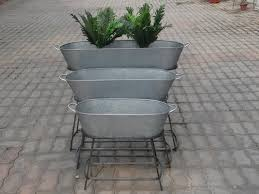 Galvanized <b>Garden Planter</b>. (<b>Set</b> Of 50), Rs <b>1</b> /<b>set</b>, Messing ...
