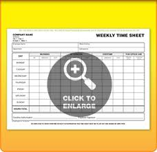 Free Daily Timesheet Template Form Printed From £50 | Time Sheet Forms