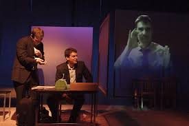 los angeles theater review flowers for algernon deaf west  daniel n durant josh breslow