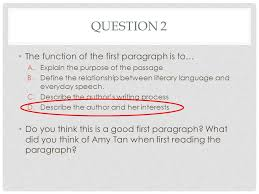 "mother tongue"" questions ppt video online  3 question"