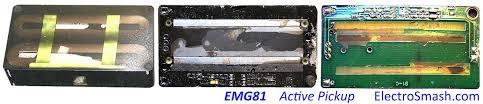 electrosmash emg81 pickup analysis emg81 guts