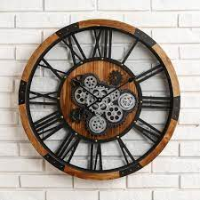 glitzhome 26 77 in d industrial wooden