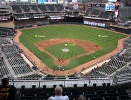 Twins Stadium Seating Chart Target Field Section 314 Seat Views Seatgeek