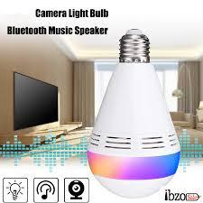 Wireless Bluetooth Speaker Camera Bulb