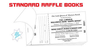 Raffle Tickets Coupon Books Printers Wholesale Prices