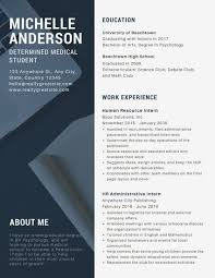 Modern Healthcare Resume Modern Professional Resume Templates By Canva