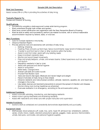 7 Resume Job Description Examples Happy Tots