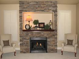 Mantel On Stone Fireplace Faux Stone Fireplace Mantel