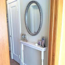 very narrow hall table. Entryway Ideas | Mirror Table/Shelf For Narrow Hallway Very Hall Table A