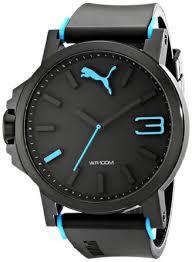 puma men s pu102941002 ultrasize blue analogue watch puma amazon puma men s pu102941002 ultrasize blue analogue watch