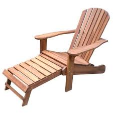 hardwood adirondack chairs. best wood adirondack chair with ottoman: outdoor interiors eucalyptus built in ottoman hardwood chairs c