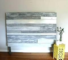 reclaimed wood ideas headboard white wooden best on wall head white reclaimed wood