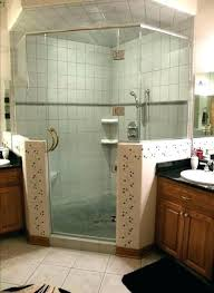 half wall shower half wall shower glass enclosure stun showers 2 decorating ideas block 500mm wall shower arm