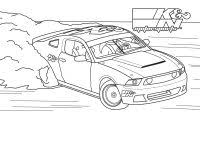 Printable Race Cars Coloring Pages Of Pagani Zonda R Pictures