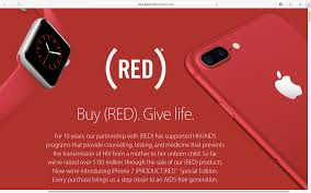 Apples Productred Contributions Have Topped 130 Million
