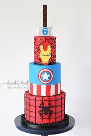 Avengers Birthday Cake Charity Fent Cake Design