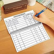 Printable Check Register Book Amazon Com Jumbo Large Print Checkbook Register Balancing