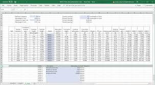 H Tree Antenna Feed Spreadsheet