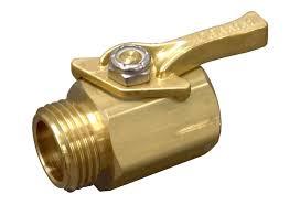 dramm heavy duty brass garden hose shut off