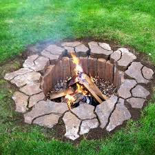 in ground fire pit in ground fire pit for well under 100 diy