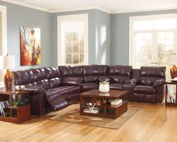 Leather Reclining Living Room Sets Reclining Sofa And Loveseat Sets With Console Best Home