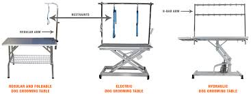 Dog Haircut Chart Top 5 Best Dog Grooming Tables Foldable Electric Hydraulic