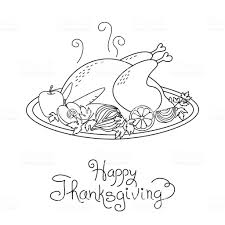 thanksgiving turkey dinner drawing. Delighful Thanksgiving Doodle Thanksgiving Turkey Meal Freehand Vector Drawing Isolated  Royaltyfree Doodle Thanksgiving Turkey Meal Freehand To Dinner