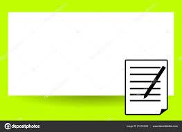 Business Pad Design Vector Flat Design Business Vector Illustration Empty Copy Space
