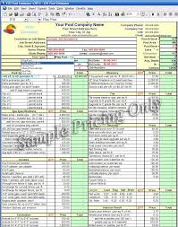 Estimating Spreadsheets Google Spreadsheet Templates How To Make An