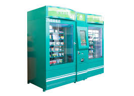 Medical Supply Vending Machine Classy Campus Health Wellness Medical Supply Vending Machine Kiosk With QR Code