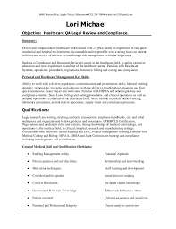 Resume Com Review Simple Healthcare QA Healthcare Review And Compliance Resume 282828