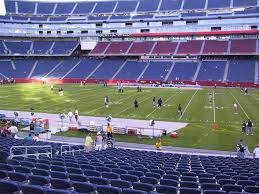 Gillette Stadium View From Lower Level 108 Vivid Seats