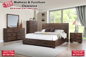 No Credit Check Bedroom Furniture Cranston Storage Bedroom Set Cm8200 Red Tag Mattress And