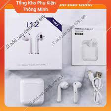 BH 6 Tháng) Tai Nghe Bluetooth airpods i12 tws PB 2021 giá cạnh tranh