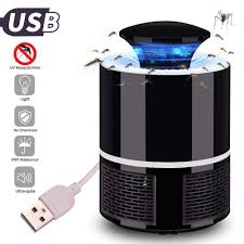 Led Mosquito Killer Lamp Usb Powered Super Quiet Electronic Killing