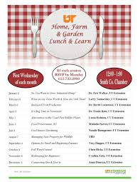 the smith county ut extension office has released its lineup of home farm and garden lunch and learn lectures for the upcoming year