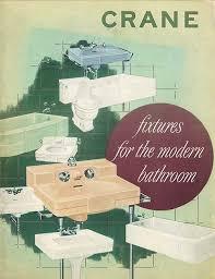crane bath fixtures catalog cover 1949