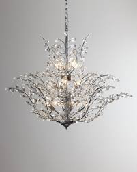 Neiman marcus lighting Flower Neiman Marcus Upside Down 18light Crystal Chandelier Neiman Marcus