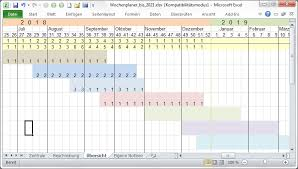 Excel Kalender Kalender Excel 2019 Zeitplaner Auvista
